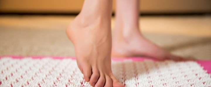 acupression pied